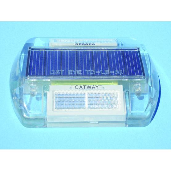 Plot de balisage avec cellule solaire catway - Plot de signalisation ...