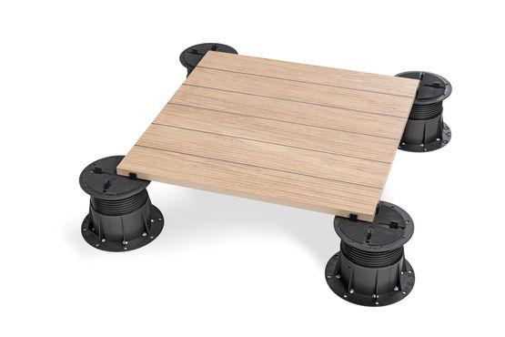plots r glables pour sol ext rieur avec correcteurs de pentes pb s rie buzon pedestal. Black Bedroom Furniture Sets. Home Design Ideas