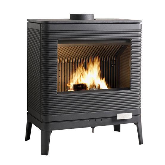 kazan po le bois 9 kw post combustion avec ailettes. Black Bedroom Furniture Sets. Home Design Ideas