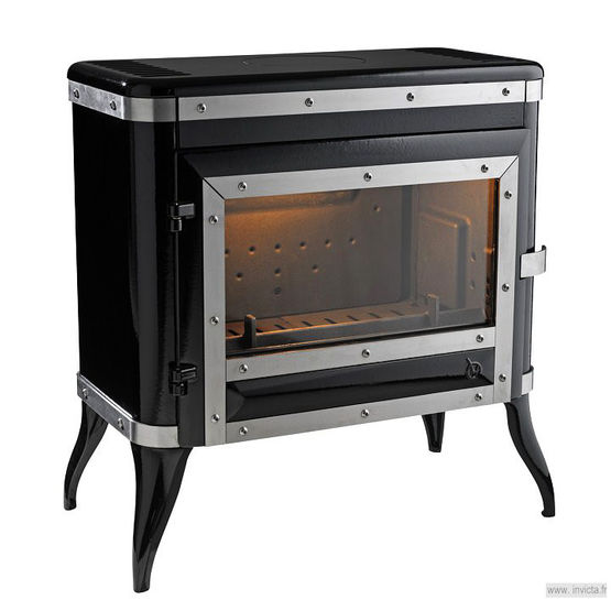 po le bois en fonte 8 kw haut rendement avec post combustion tennessee 6181 48 invicta. Black Bedroom Furniture Sets. Home Design Ideas