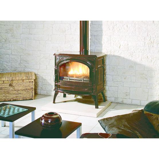 po le bois en fonte pour b ches jusqu 39 60 cm topaze. Black Bedroom Furniture Sets. Home Design Ideas