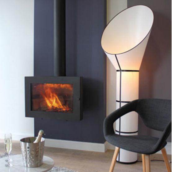 po le bois mural ferm et suspendu oliva vyrosa. Black Bedroom Furniture Sets. Home Design Ideas
