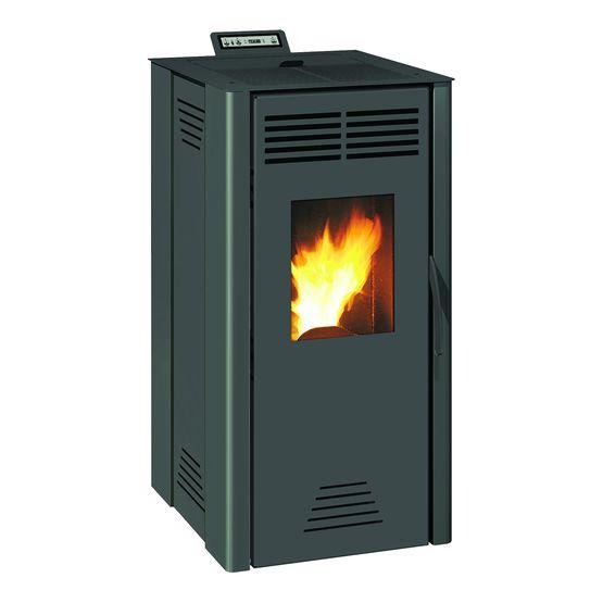serino po le granul s 8 kw air chaud ventil et haut rendement. Black Bedroom Furniture Sets. Home Design Ideas