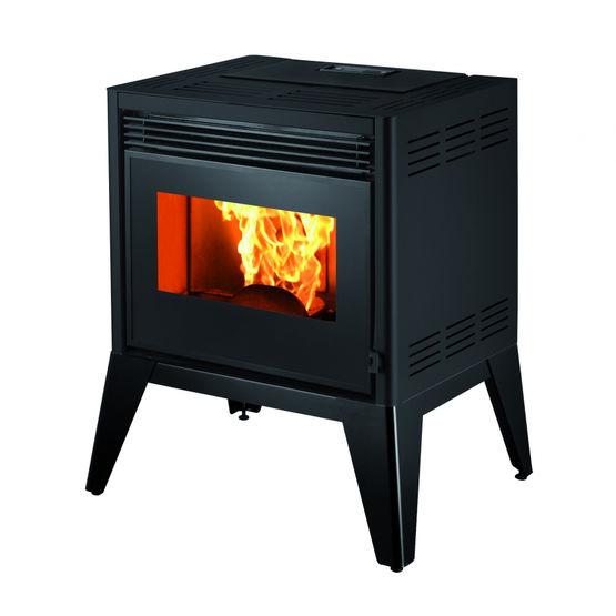 eider po le granul s 9 kw aux lignes contemporaines. Black Bedroom Furniture Sets. Home Design Ideas