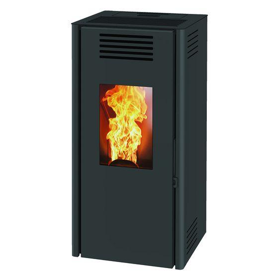 vasto 9 po le granul s 9 kw air chaud ventil rendement lev. Black Bedroom Furniture Sets. Home Design Ideas