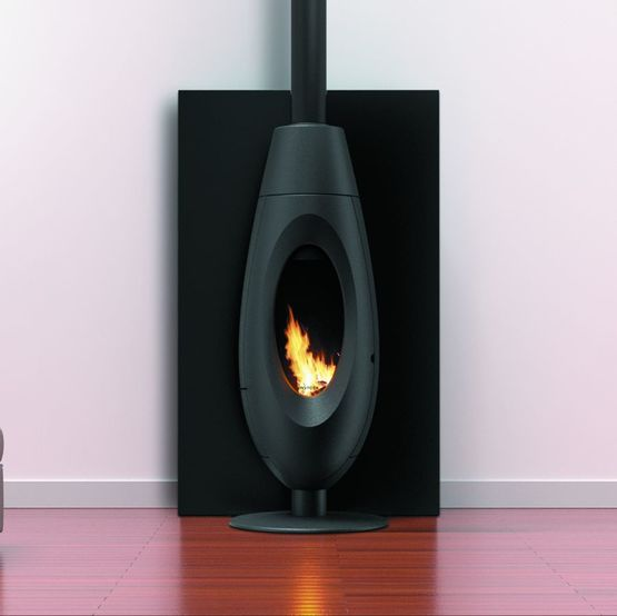 ove plug in po le granul s de bois 6 kw convection naturelle. Black Bedroom Furniture Sets. Home Design Ideas