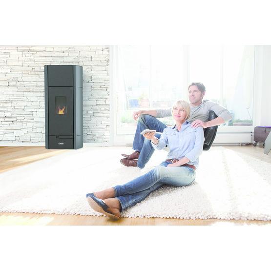 puissance poele a granule simple pole granuls ecofire. Black Bedroom Furniture Sets. Home Design Ideas