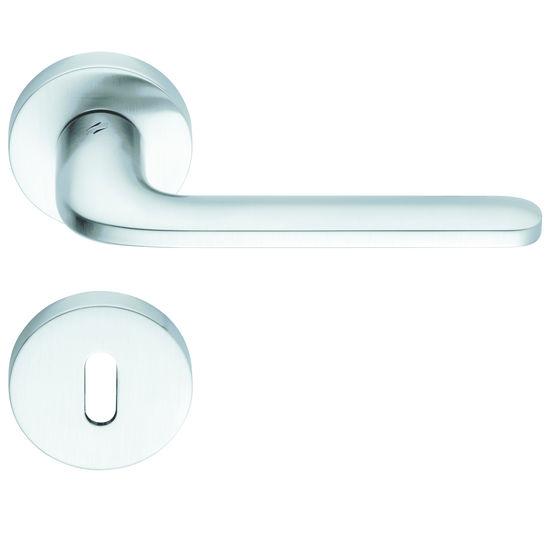 Poign e sur plaque ou rosace pour portes et fen tres for Fabricant porte et fenetre