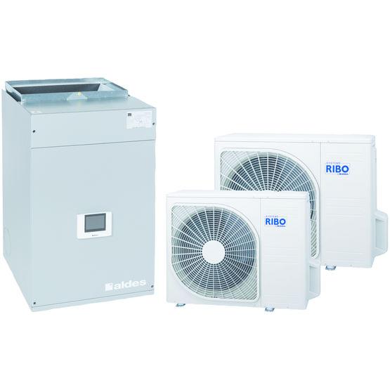 Pompe a chaleur reversible air air trendy une pompe chaleur rversible airair performante et - Pompe a chaleur air air reversible ...