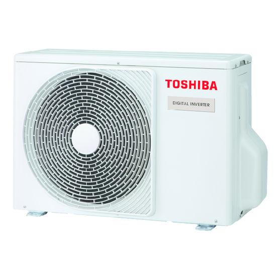 Pompe chaleur air air monosplit performante de petite puissance di 1 1 5 cv toshiba - Difference entre pompe a chaleur et climatisation reversible ...