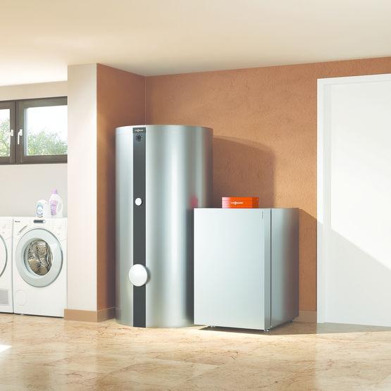 pompe chaleur compacte eau glycol e eau vitocal 200 g viessmann. Black Bedroom Furniture Sets. Home Design Ideas