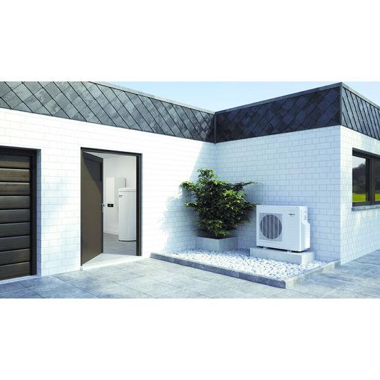 pompe chaleur version split air eau vitocal 200 s viessmann. Black Bedroom Furniture Sets. Home Design Ideas