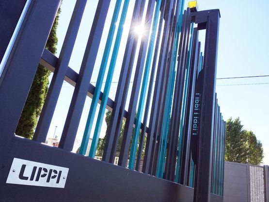 Super Portail coulissant en acier galvanisé | Portail Coulissant STEM  LJ52