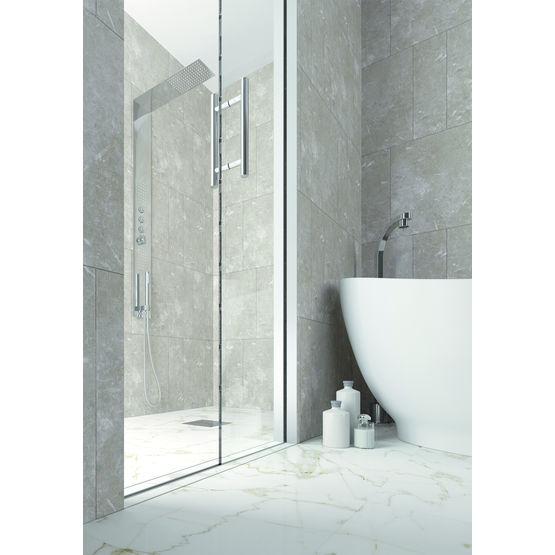Porte coulissante galandage pour cabine de douche scrigno for Portes de douche coulissantes