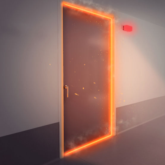 dagfeu dagard cleanroom portes coupe feu pour salles of porte coupe feu chaufferie. Black Bedroom Furniture Sets. Home Design Ideas