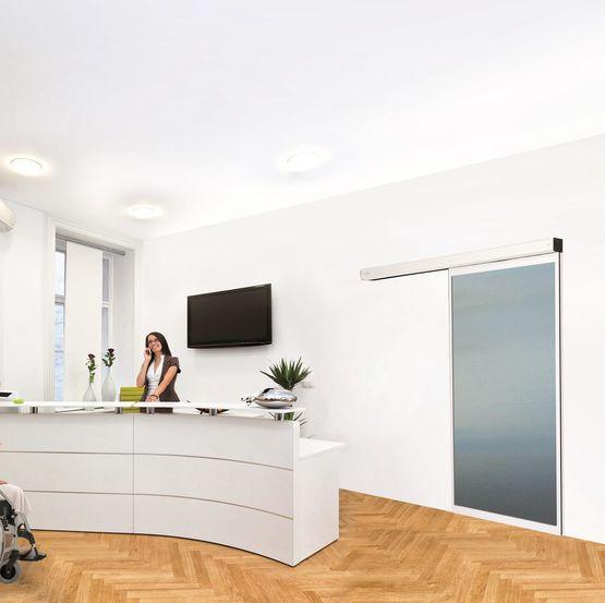 Porte coulissante d int rieur en applique softica innova for Ou acheter porte interieur