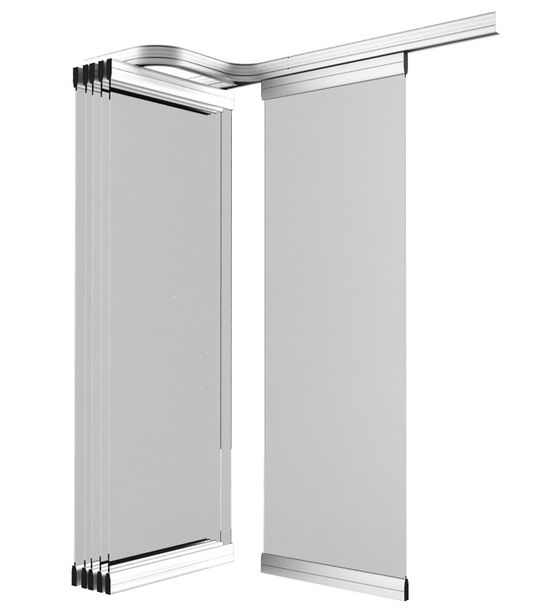 Msw porte coulissante modulable - Systeme coulissant porte interieure ...
