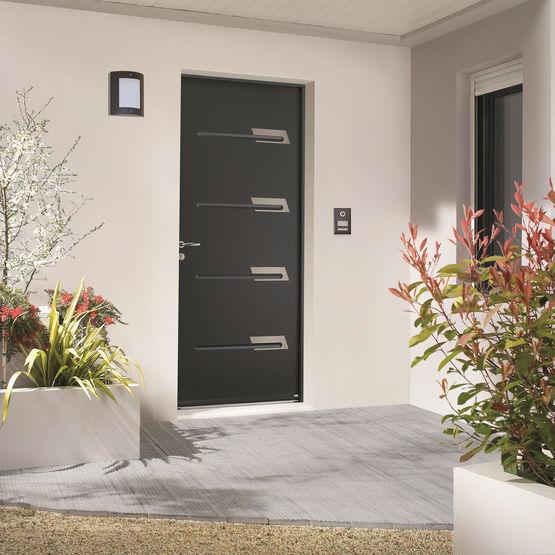 porte d 39 entr e acier haute isolation saya zilten. Black Bedroom Furniture Sets. Home Design Ideas