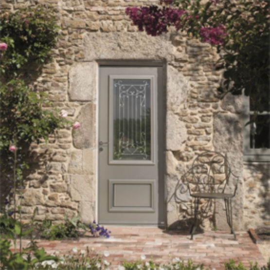 Porte d 39 entr e adapt e aux r novations cormelles zilten - Porte entree renovation ...