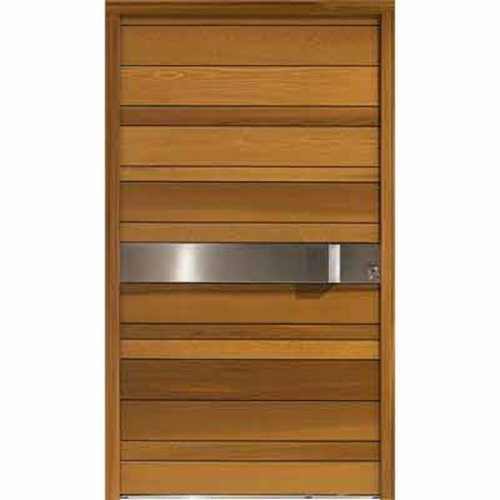 porte d 39 entr e design en red cedar nativ 2 zilten. Black Bedroom Furniture Sets. Home Design Ideas