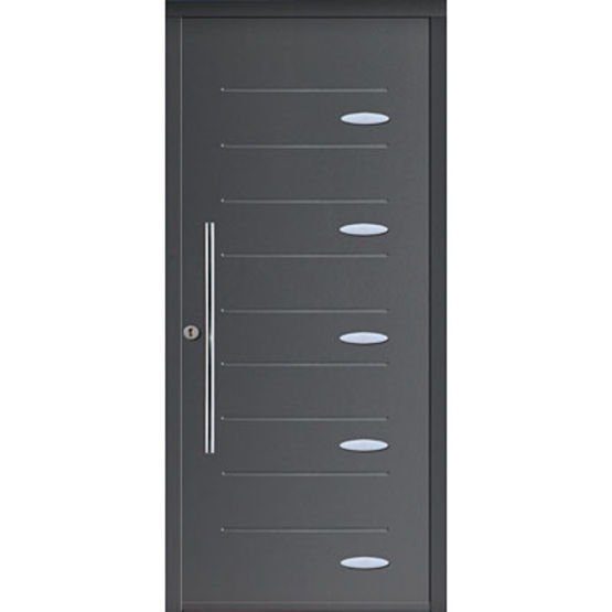 porte d 39 entr e en acier isolation thermique int gr e texas mab. Black Bedroom Furniture Sets. Home Design Ideas