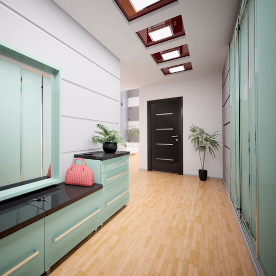 porte d 39 entr e monobloc en aluminium portes monobloc. Black Bedroom Furniture Sets. Home Design Ideas