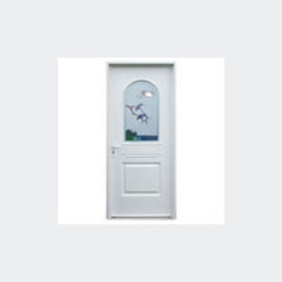 Porte d 39 entr e pvc haute isolation artick e ferm - Isolation phonique porte d entree ...