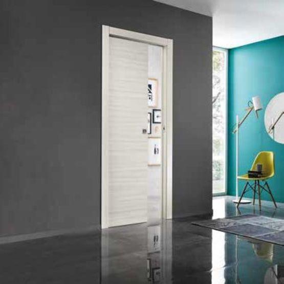 gamme comfort porte d int rieur coulissante en bois. Black Bedroom Furniture Sets. Home Design Ideas