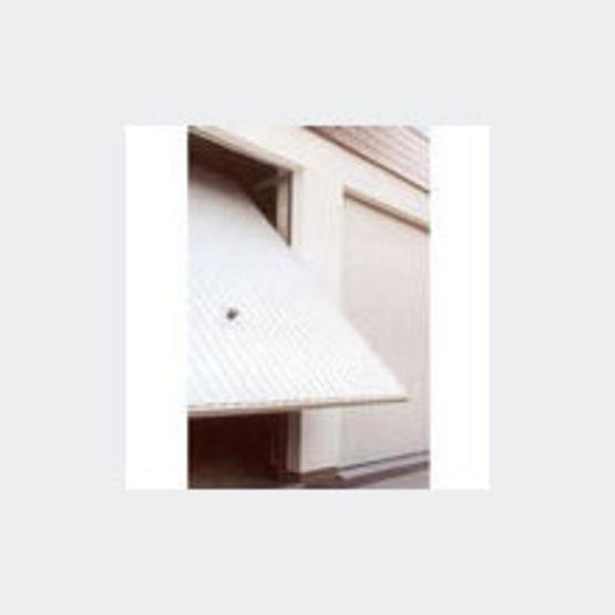 Porte de garage basculante d bordante jusqu 39 3 m tres de for Type de porte