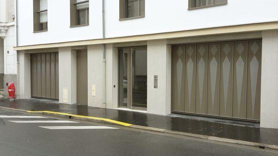 Porte De Garage Basculante Non Débordante Et Autoportante Mélodia - Porte de garage basculante non debordante