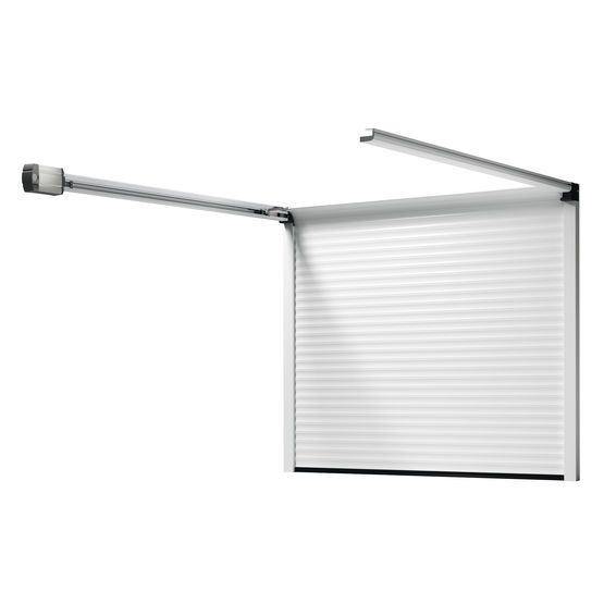 Rollmatic od porte de garage enroulable refoulement - Porte de garage sectionnelle ou enroulable ...