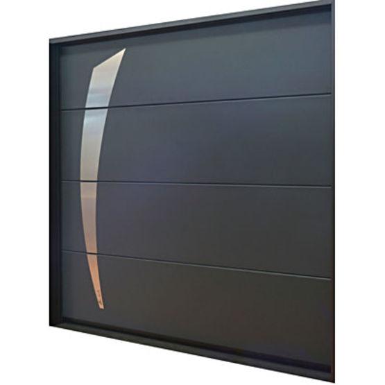Porte de garage sectionnelle refoulement plafond soprofen - Porte de garage sectionnelle a cassette ...