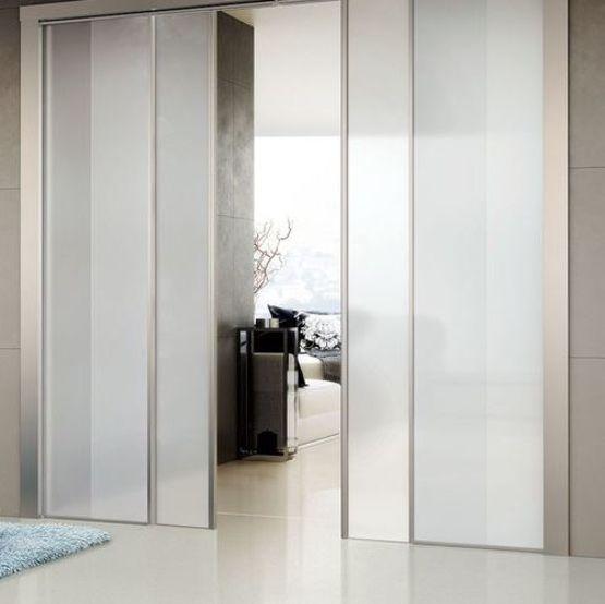 Lorica porte en verre coulissante escamotable avec - Porte coulissante escamotable ...