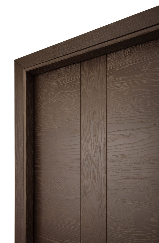 emia gamme nature porte int rieure parement en ch ne massif. Black Bedroom Furniture Sets. Home Design Ideas