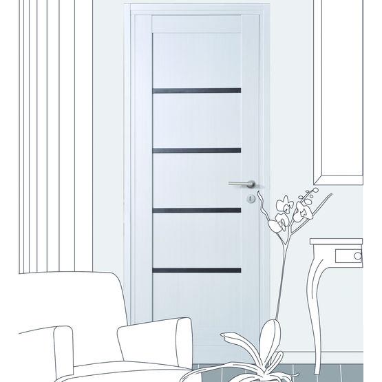 porte int rieure rive droite d cor m lamin ou vitr anger portes interieures. Black Bedroom Furniture Sets. Home Design Ideas