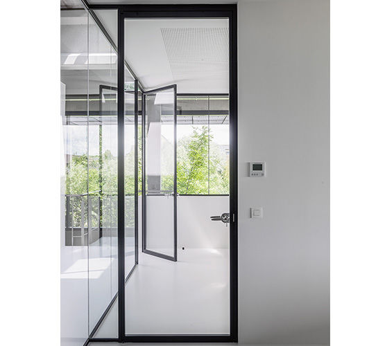Porte int rieure vitr e tertial hoyez partitionsystems for Porte interieure vitree