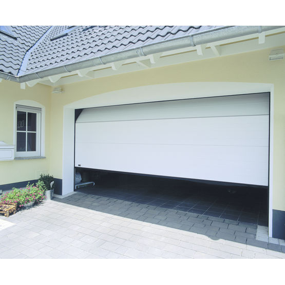 Porte sectionnelle pour garage individuel primus 100 for Fabricant porte de garage sectionnelle