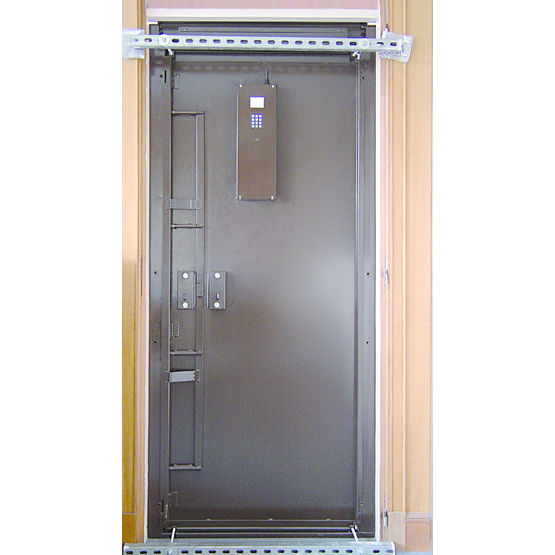 Porte simple battant anti intrusion porte d 39 entr e for Prix porte interieure standard