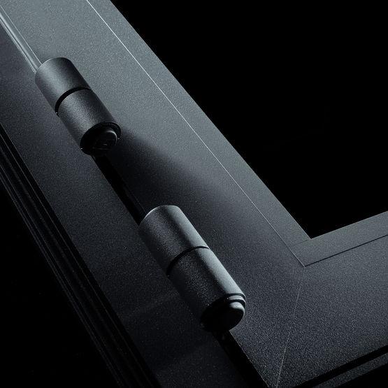 porte d 39 entr e alu sur mesure 70mm goya couleurs aux choix devis ou commande en ligne. Black Bedroom Furniture Sets. Home Design Ideas