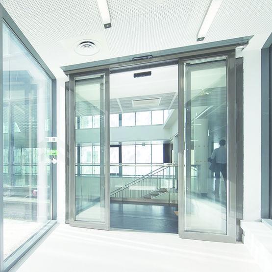 Porte Vitre Automatique Coulissante CoupeFeu   Ou  Minutes