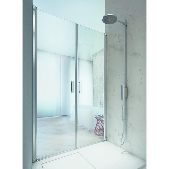 porte vitr e r versible pour douche linea vismara