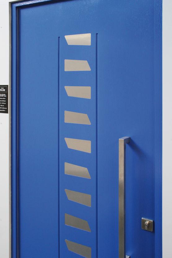 portes d 39 entr e composite euradif. Black Bedroom Furniture Sets. Home Design Ideas