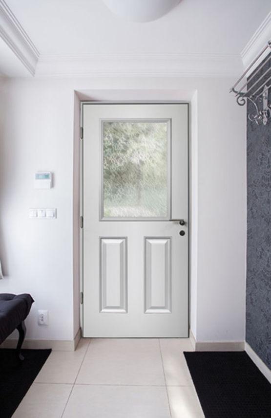 Portes d 39 entr e composite euradif for Epaisseur porte d entree