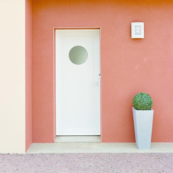 portes d 39 entr e pvc pleines ou vitr es voyel millet portes fen tres. Black Bedroom Furniture Sets. Home Design Ideas