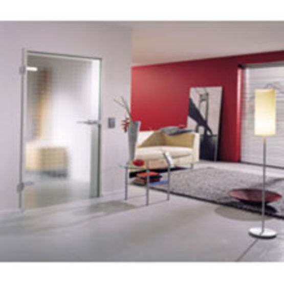 portes d int rieur en verre tremp sans cadre clarit saint gobain glass. Black Bedroom Furniture Sets. Home Design Ideas