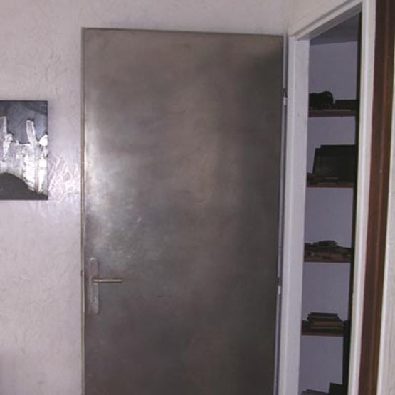 portes et panneaux rev tement m tallique crit re temps m tal composite. Black Bedroom Furniture Sets. Home Design Ideas