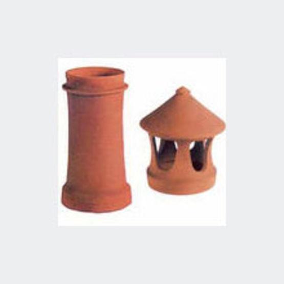 Poteries de couronnement en terre cuite imerys structure terre cuite - Chapeau cheminee terre cuite ...