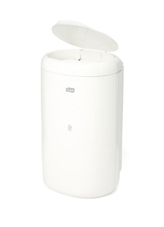 poubelle de 5 l pour locaux sanitaires tork poubelle de. Black Bedroom Furniture Sets. Home Design Ideas
