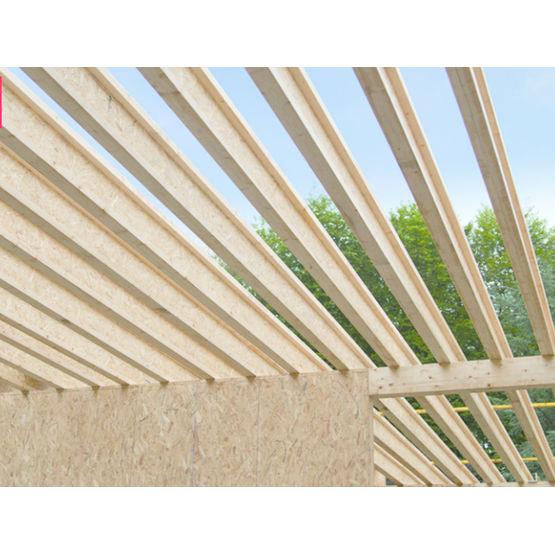 poutre en i structurelle membrures bois massif et me osb poutre en i swelite sinbpla. Black Bedroom Furniture Sets. Home Design Ideas