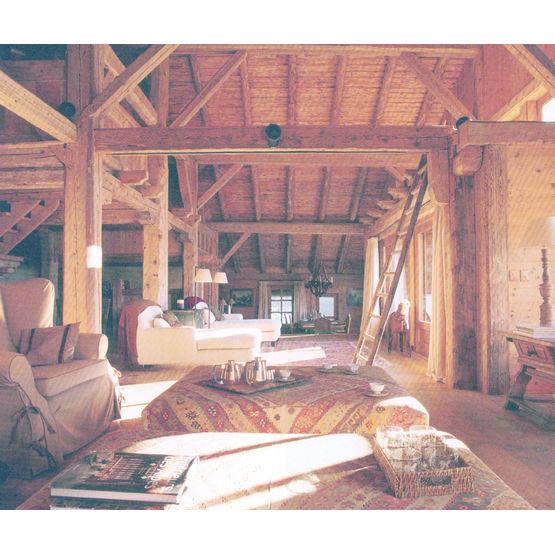 Poutres en bois massif de r cup ration poutres vieux bois rediviva - Vieux materiaux recuperation ...